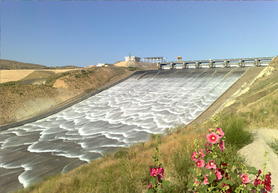 Doosti Dam ( Iran and Turkmenistan border)