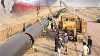 راه اندازی و بهره برداری طرح انتقال آب خلیج فارس به صنایع جنوب شرق کشور (قطعه اول)