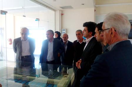 بازدیدمدیران ارشد پروژه انتقال آب خلیج فارس، از پروژه خط انتقال آب سد دوستی