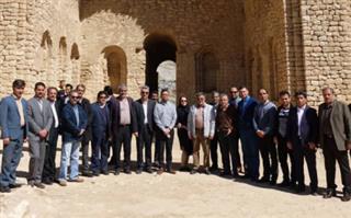 بازدید مدیران ارشد آبفای استان فارس و آب و فاضلاب کشور از پروژه های فاضلاب بهره مند از تسهیلات بانـک توسعه اسـلامی(IDB)
