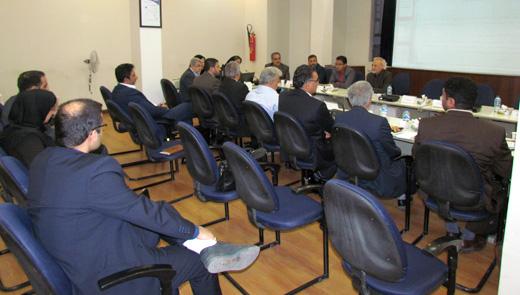 دومین جلسه مجمع عمومی هیات موسسین شرکت پروژه  تامین و انتقال آب از دریای عمان