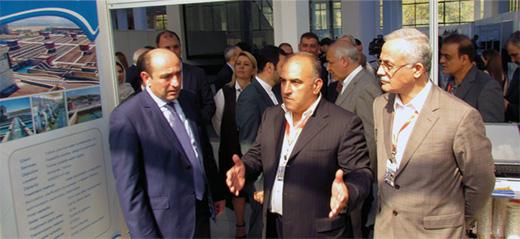حضور شرکت طوس آب در نمایشگاه اختصاصی ایران در کشور  ارمنستان