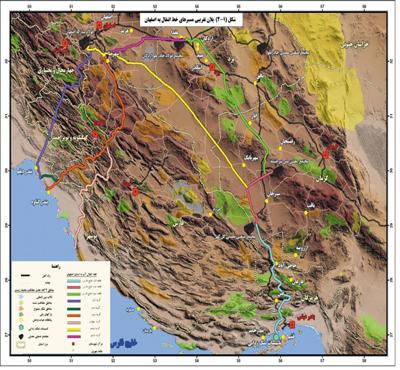 مطالعات بررسی های فنی،اقتصادی،زیست محیطی و اجتماعی گزینه های مختلف تأمین آب صنعت استان اصفهان از خلیج فارس