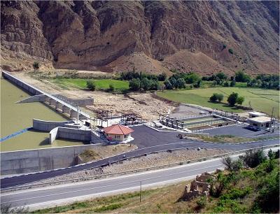 Daroongar Reservoir Dam