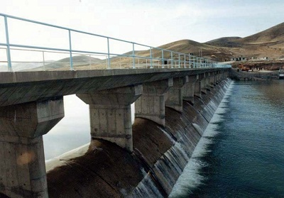 Diverting Dam of Chamchamal Irrigation and Drainage Network in Kermanshah