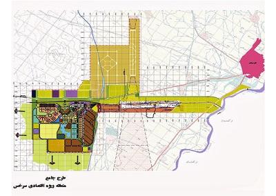 طرح آبرسانی به سایت 2200 هکتاری  منطقه ویژه اقتصادی سرخس