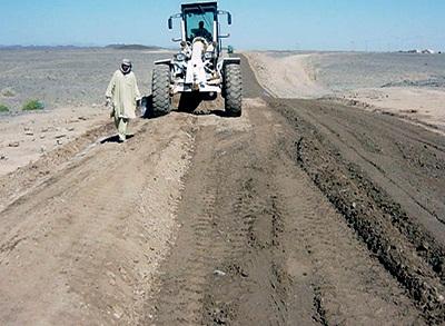 نظارت عاليه و كارگاهي راههاي روستائي سراوان- استان سيستان وبلوچستان
