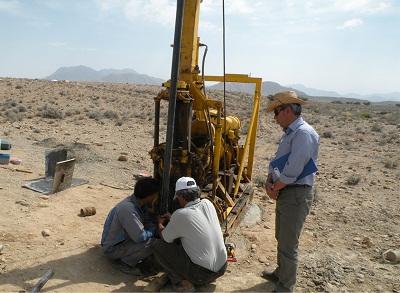 مطالعات ژئوتکنیک طرح ملی انتقال آب خلیج فارس به صنایع معدنی جنوب شرق کشور